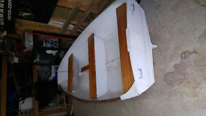 8Ft solid dingy