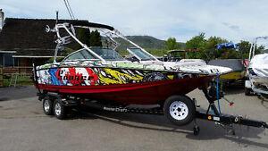 Mastercraft X45 picklefork tournament boat