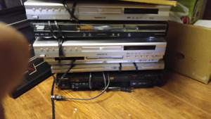 Lot of DVD players