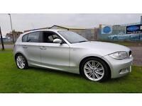 2006 BMW 1 SERIES M SPORT,FSH, BLACK LEATHER, 12 MONTHS MOT