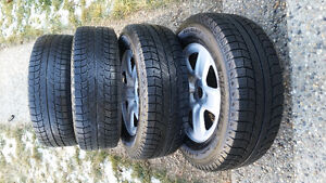 245/65R17 Michelin winter tires from Toyota highlander Edmonton Edmonton Area image 2