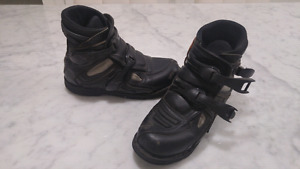 Icon Motorcycle Boots -Black Sz 11