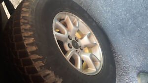 Ford ranger FX4 wheels and tires