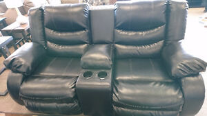 Linebacker loveseat and chair