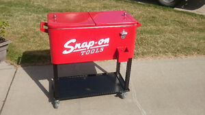 Snap-on cooler
