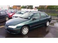 1997 P PEUGEOT 406 2.0 16V LX.RARE CAR,1 OWNER FROM NEW.ONLY 68K.ANY PX WELCOME.