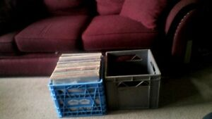 Milk Crates For Albums, $10 FIRM