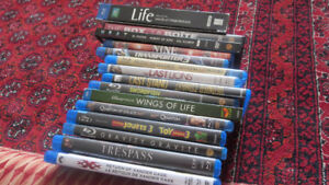 Movies blu ray dvd lot