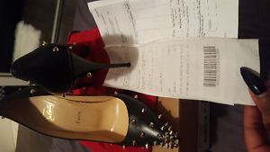 AUTHENTIC  CHRISTIAN LOUBOUTIN RED BOTTOMS