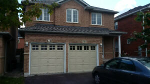 Detached house for rent in Brampton ( chinguacousy & Bovaird)
