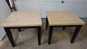 Two Matching End Tables/ Night Tables