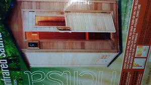 Infrared sauna(new, in box)