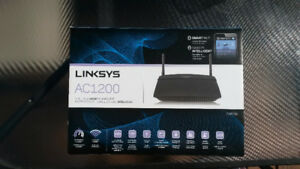 Routeur intelligent Wi-Fi bibande linksys AC1200