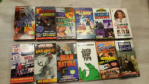 VHS lot - 5$ for all