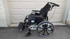 24 inches Wide Tilt-In-Space Wheelchair