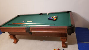 4×8 pool table