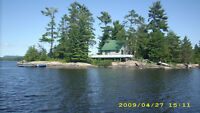 Private Cottage and Island for sale on the Ottawa River