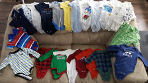 Lot of baby boy clothes 3-6m