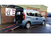 2012 Fiat Doblo Multijet Wheelchair Disabled Accessible Vehicle
