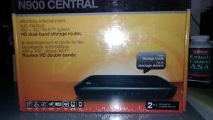 Western Digital MyNet Central N900 Router with 2TB Drive builtin