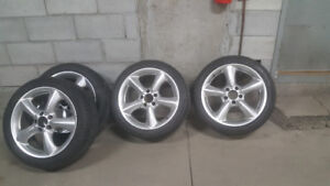 17'' Wheels and mags for Mercedes C or CLK class