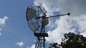 Farm Windmill with wooden wheel Stratford Kitchener Area image 1