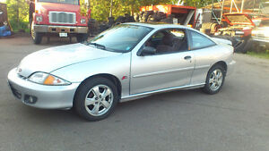 2001 Chevrolet Cavalier grey Coupe (2 door) Z24