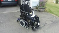 Electric wheel chair (loaded)