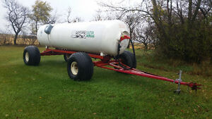 1750 gal NH3 tank and wagon