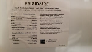 Frigidaire Professional French Door Refrigerator