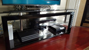 Glass TV Stand in excellent used condition for sale.