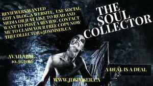 Reviewers wanted for The Soul Collector Kingston Kingston Area image 1