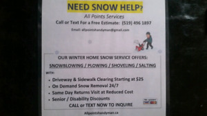 Snow, Snow Removal,  Snow Shovelling, Snow Clearing