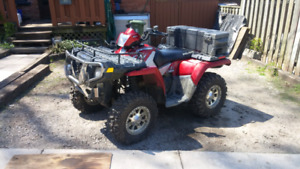 06 Polaris sportsman 500cc HO. $5500 firm or trade for Chevy PU
