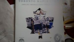 Maple Leafs medallion collection