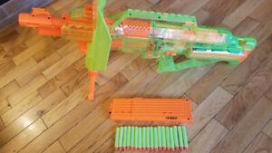 Nerf Gun - Sonic Green Stampede ECS