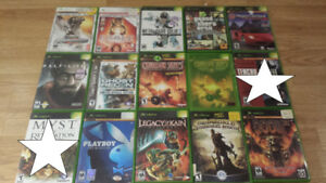 **** Over 20 Great Original Xbox Games for Sale or Trade!!! ****