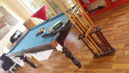 Pool Table - Slate Top - 7FT - Accessories & Cover Included Parmelia Kwinana Area Preview