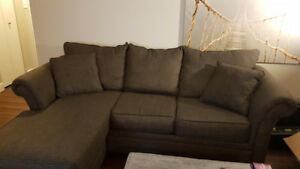 Brown Couches - $600 for both or $450 for large, $250 for small