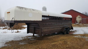 Cattle trailer (new phone number)