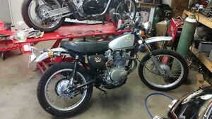 All original 1973 HONDA XL 350