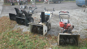...Good Used/Pre-Owned Snowblowers...