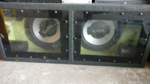 """2x10"""" subwoofers"""