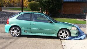 1996 Honda Civic Cx Hatchback