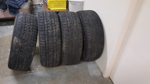 P255/65 R16, all season tires