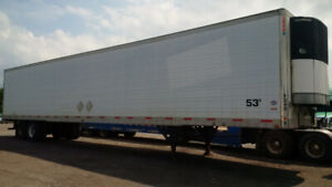 SELLING 2004-2006 WORKING REEFER TRAILERS!
