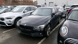 2017 BMW 330 616$/month includes winter kit