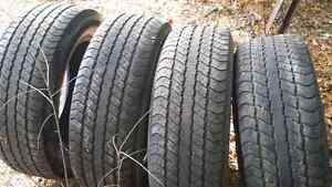 Set of four  tires (20in)
