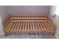 Flexa pine children's bed.
