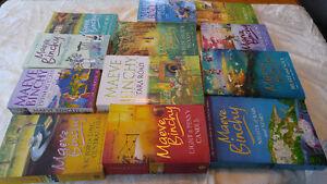 Set of 12 Maeve Binchy books